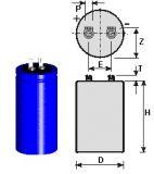 Flash capacitor compatible Topas/Primo generator. 6600µF 300V