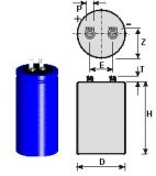 Flash capacitor 3000µF 250V
