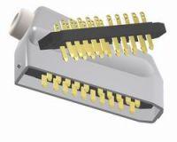 Leuchtenstecker mit 20 Kontakte, männlich