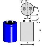 Flash capacitor compatible Pulso and Flashman generator. 2450µF